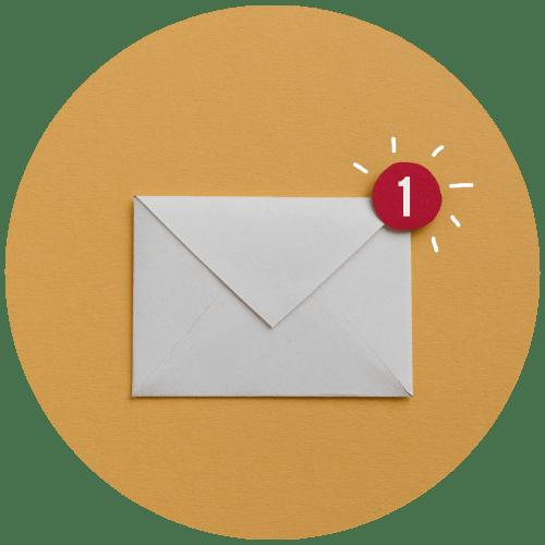 Elke maand een e-mail met de laatste nieuwtjes en updates